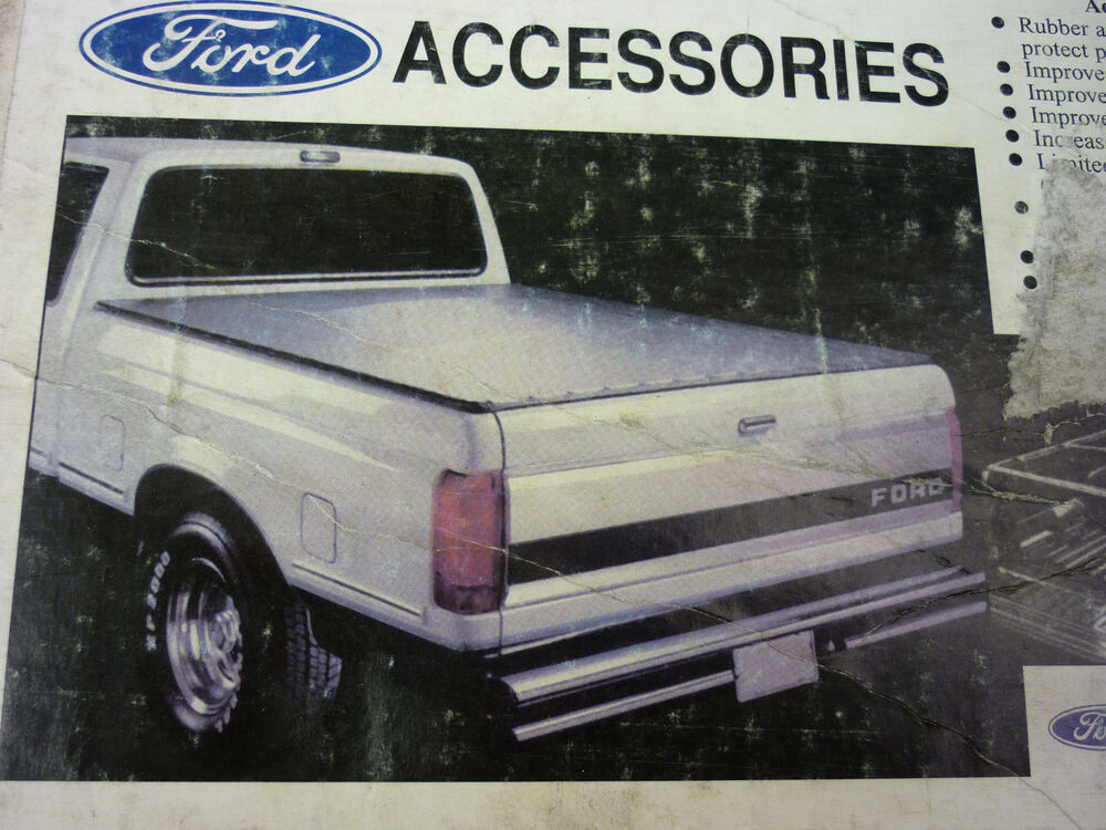 Ford Oem Tonneau Cover Black 1997 2004 F150 Long Bed
