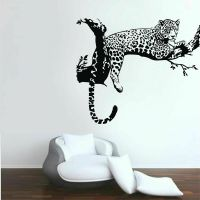 Leopard Animals Wall Stickers Vinyl Wall Decals Kids Room