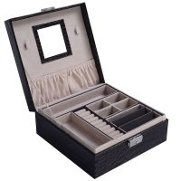Jewelry Box Storage Organizer Case Ring Earring Necklace ...
