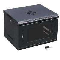 6U Wall Mount IT Server Network Cabinet Rack Enclosure ...
