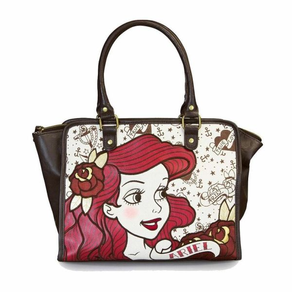 Disney Ariel Purse Tote Tattoo Flash Bag Little