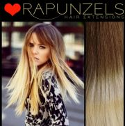 """20"""" dip dye ombre hair extensions"""