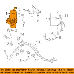 Power Steering Parts Diagram Discovery 2 V8 Wiring Mazda Oem 10-11 3-power Pump Bbm532600a | Ebay