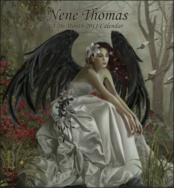 Nene Thomas 2011 Calendar Fairy Fantasy Asira Lovers Pretty Lullaby Swan Song
