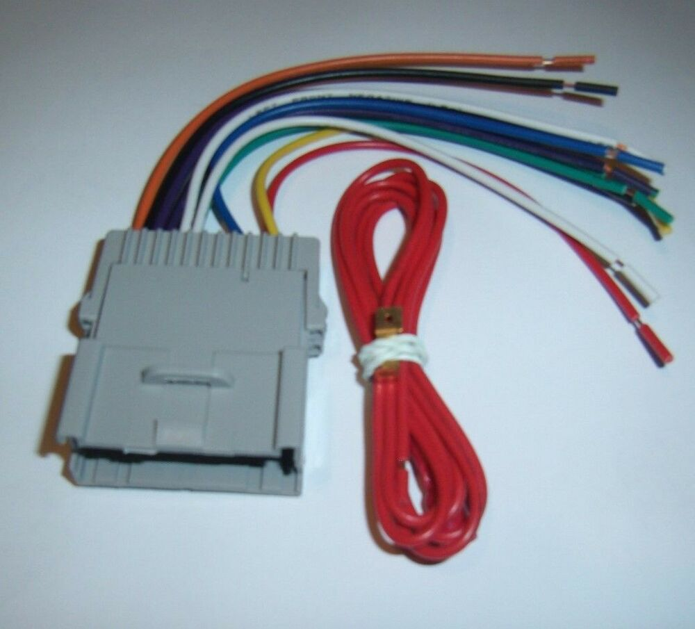 hight resolution of raptor gm4004 gm wire harness chevy pontiac car radio car stereo wiring radio wiring harness color