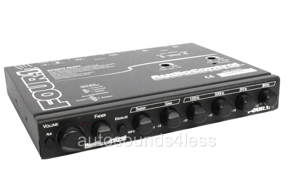 Genexis 5 Band Graphic Equalizer Car Pre Amplifier Amp