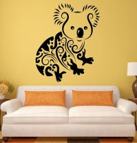 Wall Stickers Koala Funny Animals Kids Room Art Mural ...