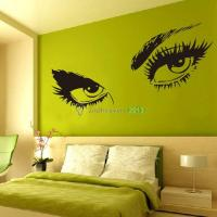 Sexy Eyes Wall Sticker Decals DIY Home Decor Wall Mural ...