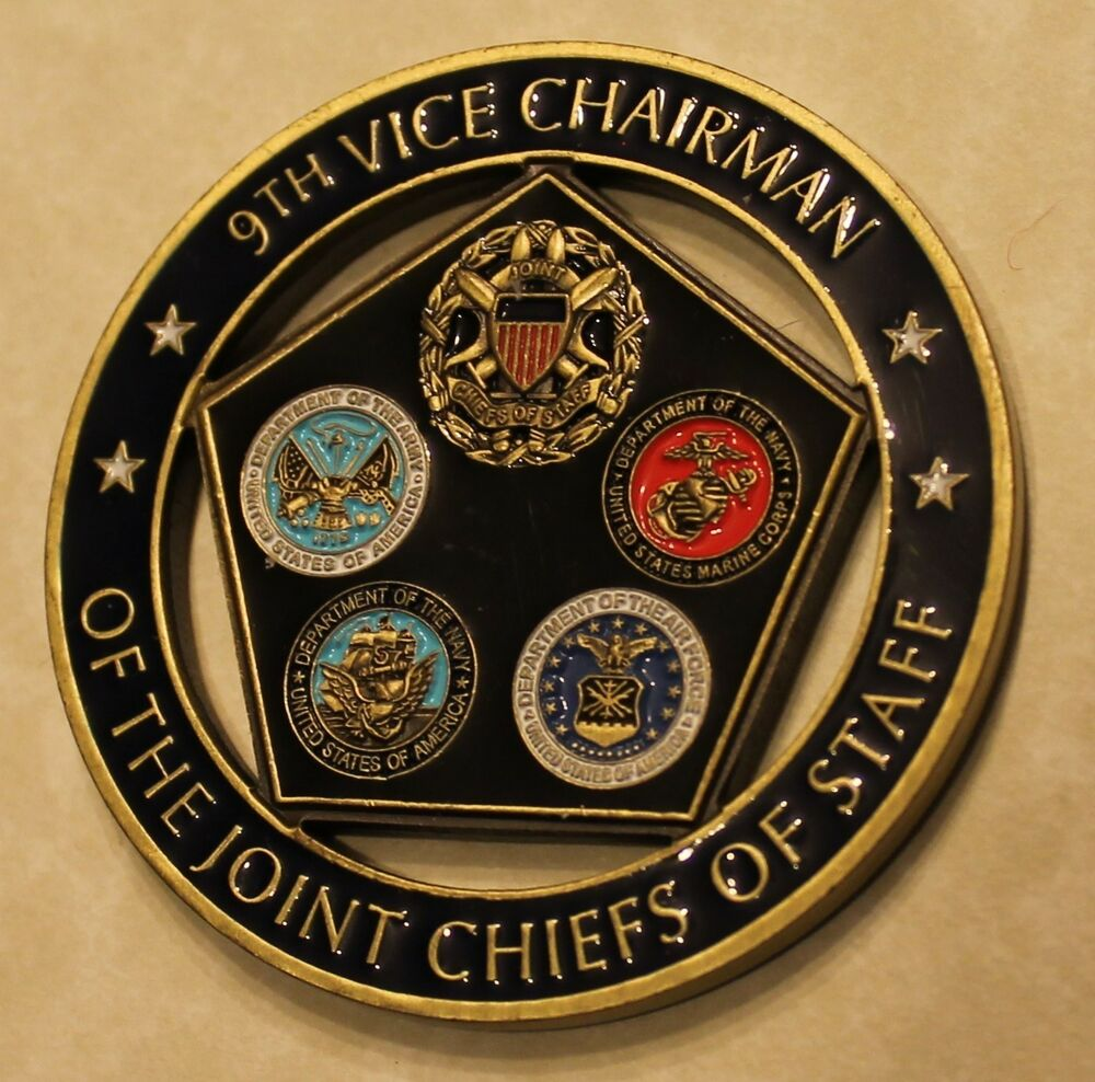 9th Vice Chairman Joint Chiefs of Staff Challenge Coin  eBay