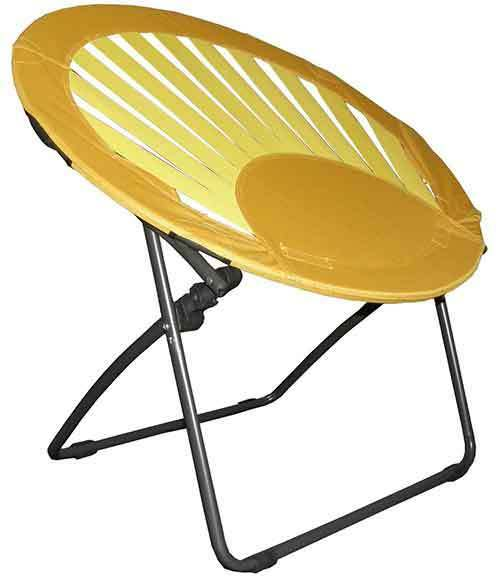 Bungee Chair Furniture Lounge Seating Camping Dorm Folding