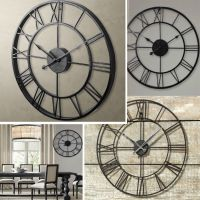Large 40CM Classic Vintage Cast Iron Wrought Garden Wall ...