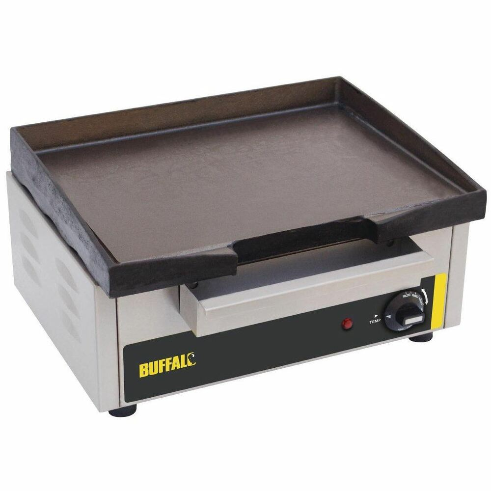 Buffalo Countertop Electric Griddle 385X280mm Stainless