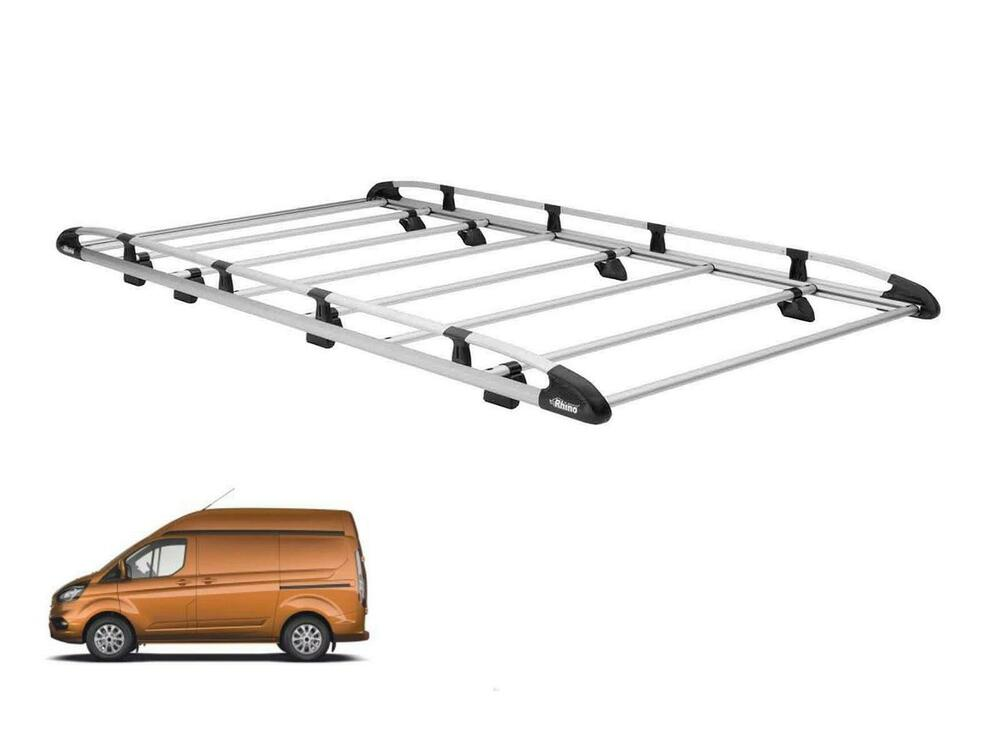 Rhino Aluminium Van Roof Rack System for Ford Transit