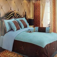 Embroidery Printed Texas Western Star Luxury Comforter ...