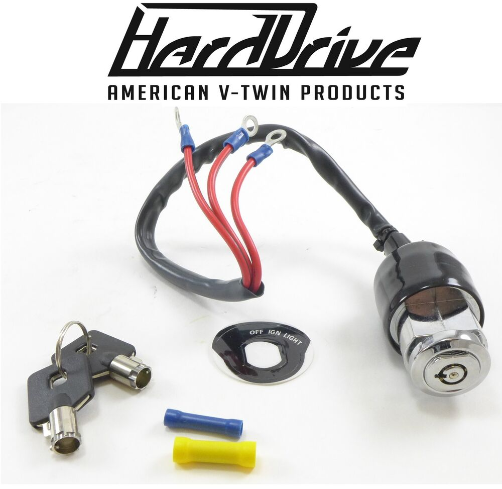 hight resolution of hard drive motorcycle 3 wire position ignition switch start stop harley davidson ebay