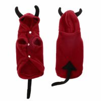 Devil Hoodie Costume Dog Clothes Pet Coat Puppy Costumes ...