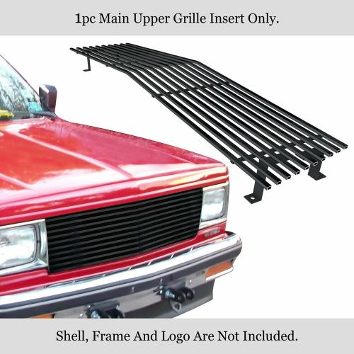 small resolution of details about new fits 82 90 chevy s 10 pickup blazer jimmy black stainless billet grille