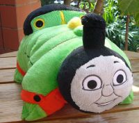 THOMAS TANK ENGINE FRIENDS PERCY~ Pillow Pee wee Pets 12 ...