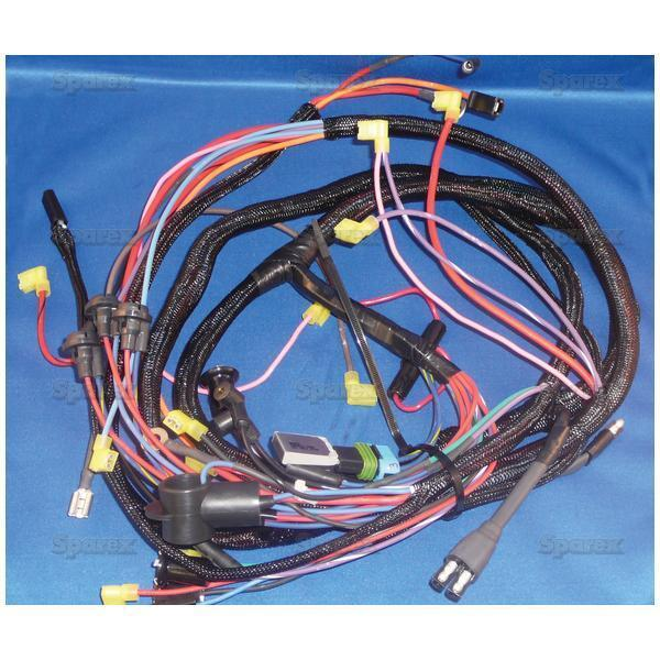 ford 4000 wiring diagram pictures motorguide trolling motor parts 2600 3600 3900 4100 4600 harness diesel tractor wire d6nn14a103j | ebay