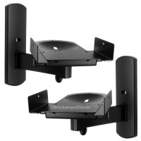 Home Theater Side Clamping Bookshelf Monitor Speaker Wall