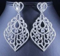 SEXY CLEAR AUSTRIAN CRYSTAL RHINESTONE CHANDELIER DANGLE