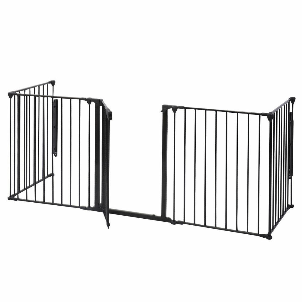 Wood Stove Baby Fence Hearth Gate Baby Safety Fence Hearth Gate Bbq Metal Fire Rail