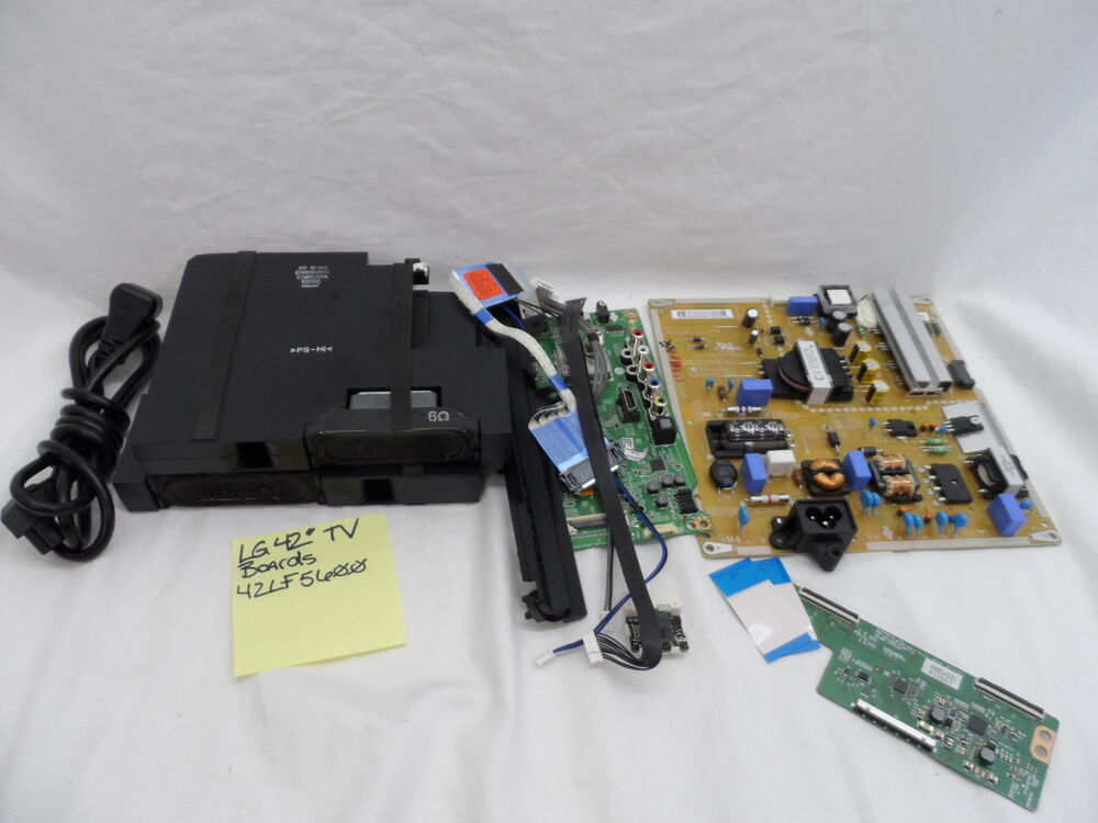 About Lg 42lf5600 42quot 1080p Led Tv Internal Circuit Boards Only