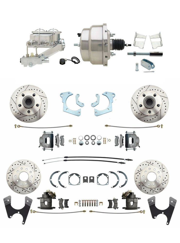 1965-68 Chevy Impala 4 Wheel Disc Brake Conversion Kit w