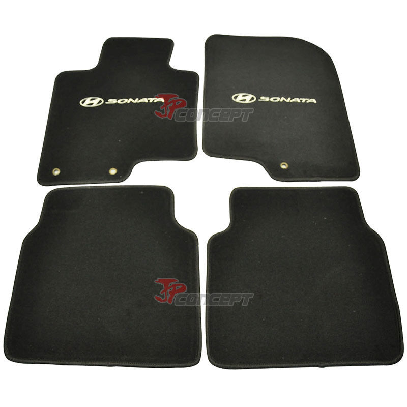 Fit For 20102012 Hyundai Sonata Black Nylon Car Floor