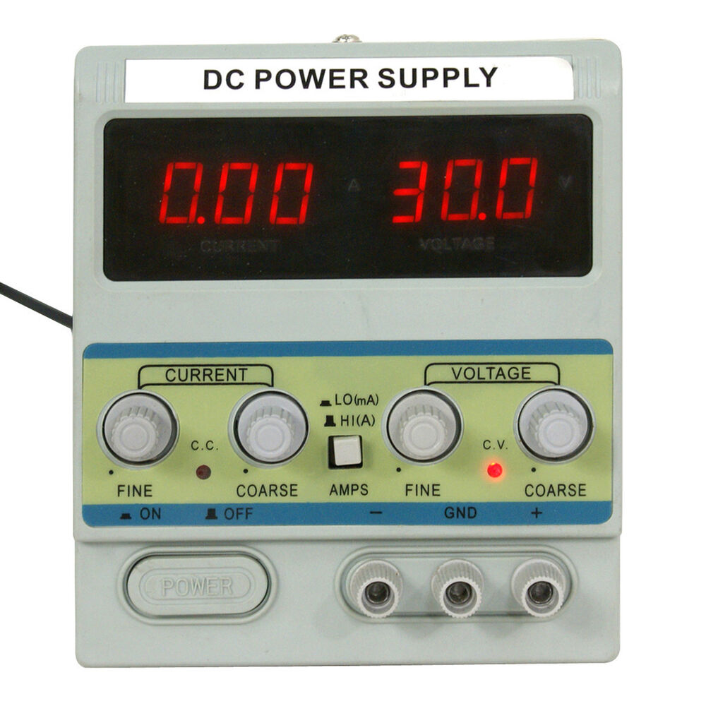 Variable Dc Power Supply Circuit Project