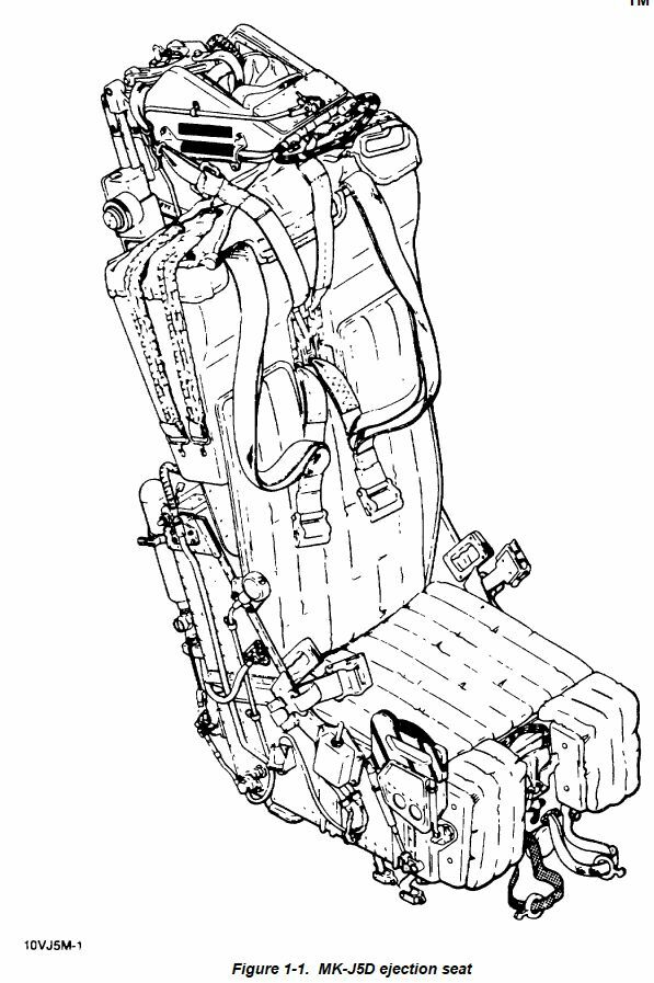 191 page MARTIN BAKER MK-J5D EJECTION SEAT Maintenance