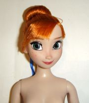 disney character doll updo red