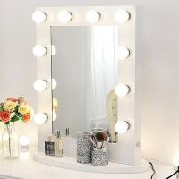 Hollywood makeup mirror with lights Aluminum Vanity ...
