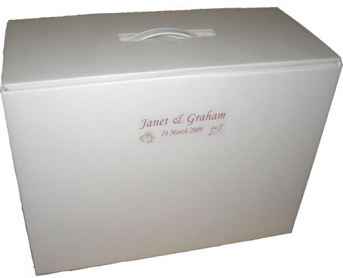 Wedding / Bridesmaid Dress Storage And Travel Boxes 3
