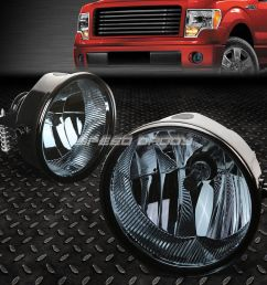 details about for 11 14 ford f150 lincoln mark lt smoked lens oe bumper driving fog light lamp [ 1000 x 1000 Pixel ]