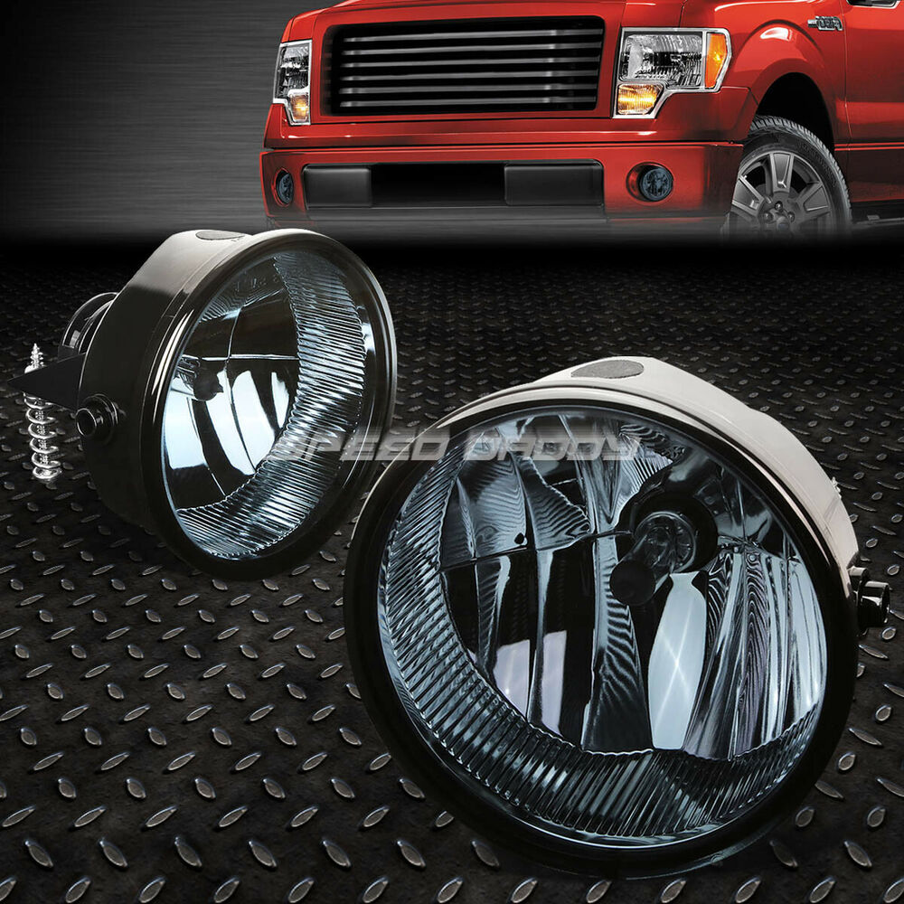 medium resolution of details about for 11 14 ford f150 lincoln mark lt smoked lens oe bumper driving fog light lamp