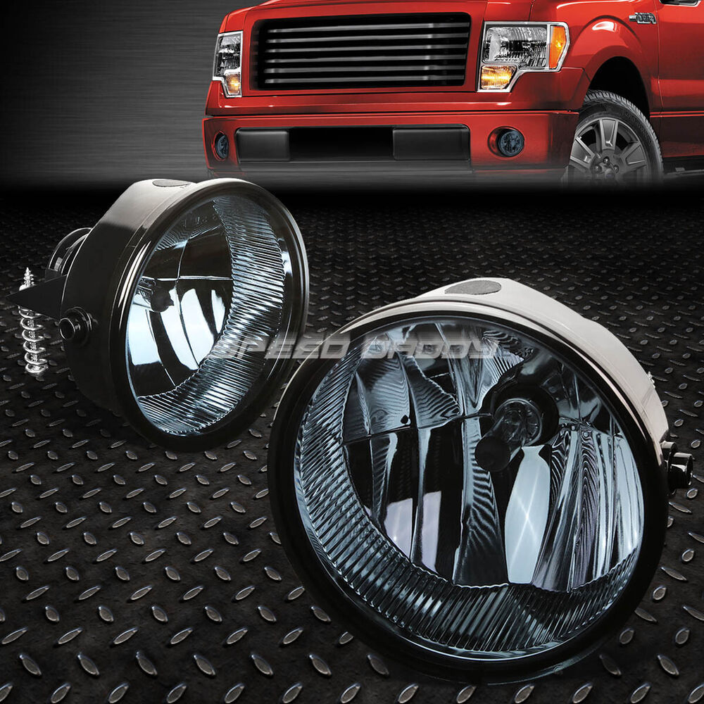 hight resolution of details about for 11 14 ford f150 lincoln mark lt smoked lens oe bumper driving fog light lamp