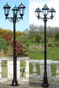 Traditional Or Victorian Garden Lamp Post Lights Lighting ...