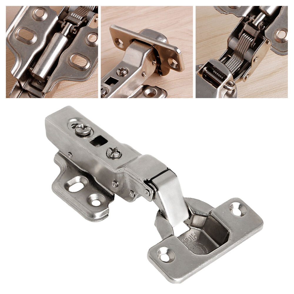 35mm Soft Close Full Overlay Kitchen Cabinet Cupboard Hydraulic Door Hinge Cups 665210329343  eBay