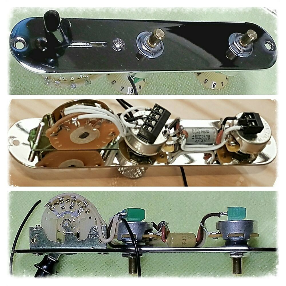 Telecaster Upgraded Wiring Kit 3way Switch