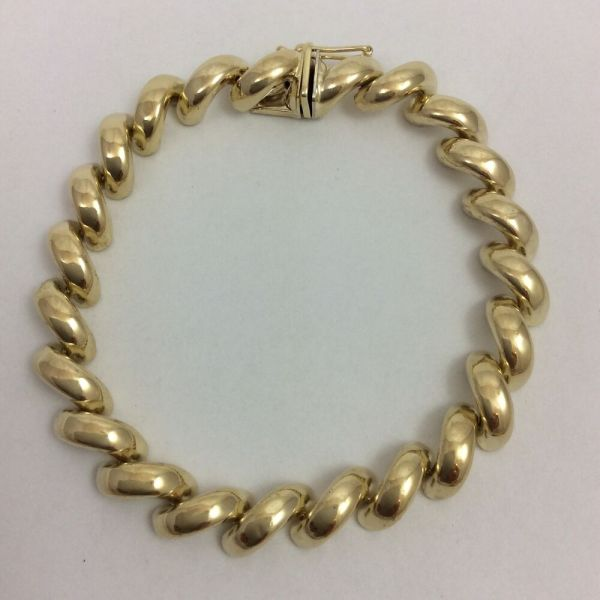 14k Yellow Gold Marco Bracelet