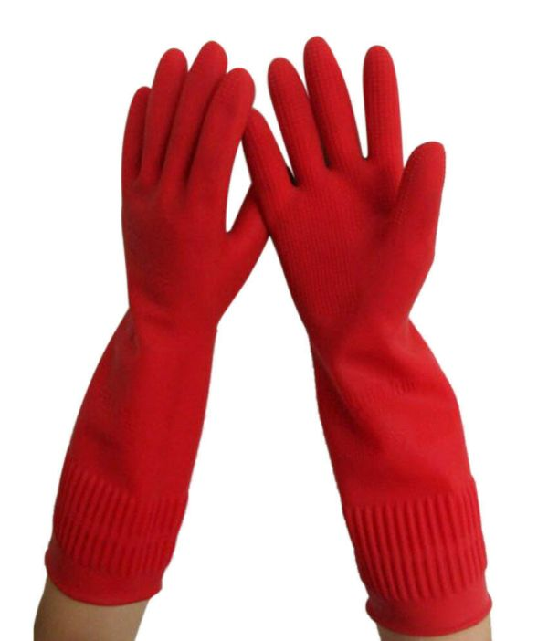 470 All For You 15quot Long Reusable Household Rubber Gloves