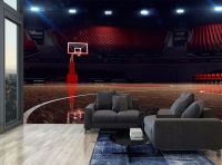 Basketball Arena Lights Sport Photo Wallpaper Wall Mural ...