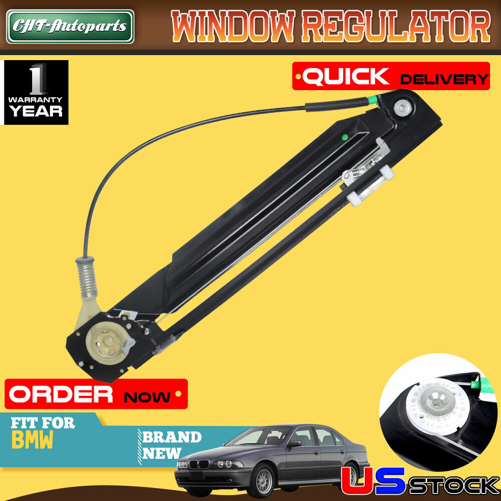 hight resolution of details about window regulator w o motor for bmw e39 525i 528i 530i 540i m5 99 03 rear left