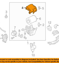 details about ford oem air cleaner intake filter box housing lid top cover cv6z9661a [ 1000 x 798 Pixel ]