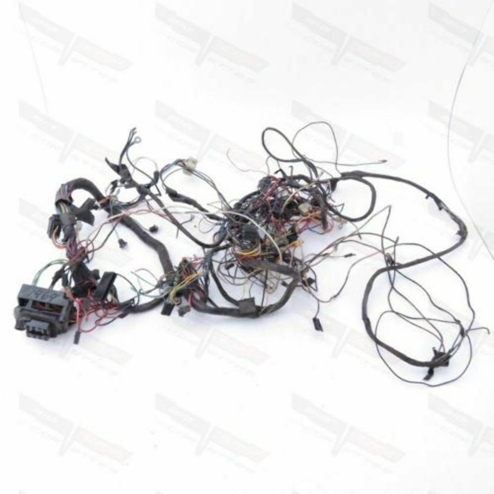 Corvette OEM Fuse Block & Main Dash Wire Harness Manual