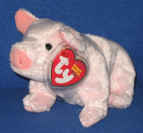 Ty Luau Pig Beanie Baby - Mint With Tags