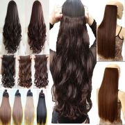 real thick human hair 1piece