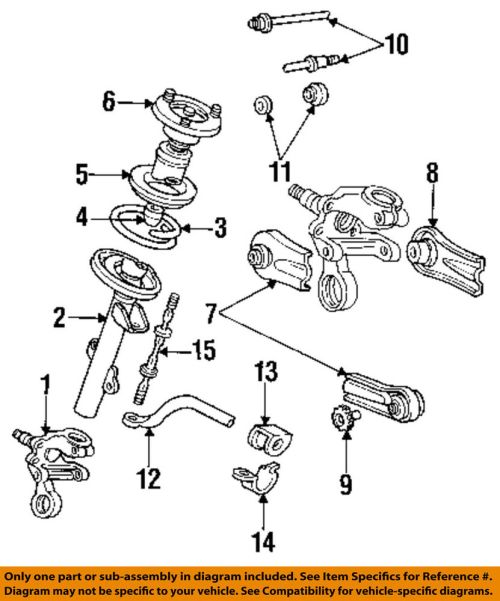 small resolution of details about ford oem rear suspension adjust cam e6dz5k751a