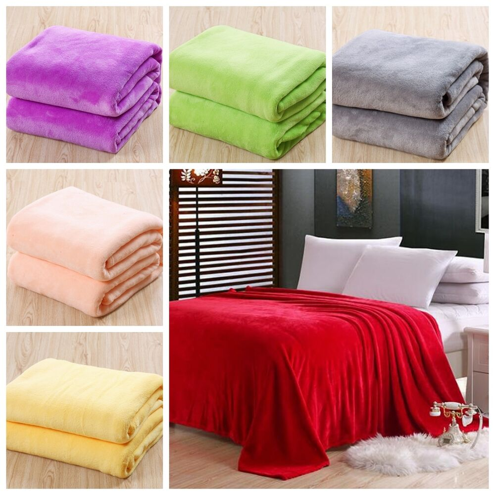 sofa bed queen size skeidar sjeselong new super soft luxurious fleece throw blanket 3 solid ...
